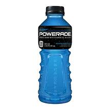 Blue Powerade 20oz