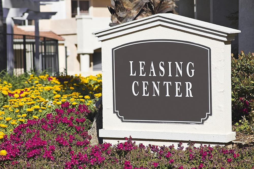 apartment leasing center